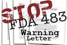 fda 483 warning letter