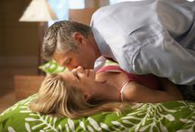 Bed Kiss / A kiss is the most meaningful and emotionally expressive in all of man's actions and gestures. It serves people to keep each others relationship and intimacy or heals pain and ease anguish.