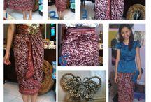 cara pake batik