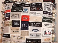 Labels, upcycled, reused