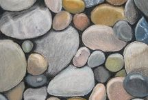 Камни, отражения