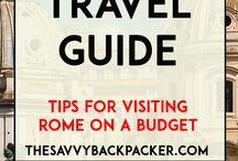 Travel Netherlands & Rome