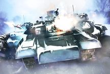 Tanks and Military Concept Art / Check out these tanks concept art from our games that we made this far.
