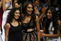 Candid with Gauri and Nainika