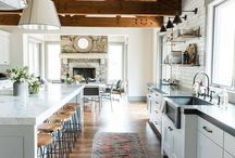 Kitchen | Rustic, Charcoal