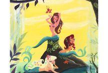 Character Design - Mermaids