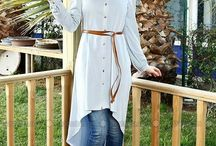 Hijab with fashion