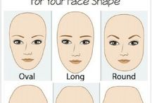 face shapes and eyebrows
