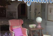 """vetrine / vetrine del negozio """"Il Rigattiere"""""""