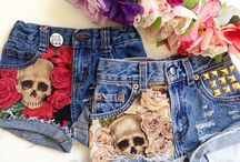 Jeans and jean shorts