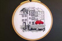 permin red car
