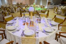 paper pom pom centerpiece / tissue paper pom pom, wedding, centerpiece, table decoration, diy