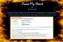 Reviews Cross My Heart / Reviews I've received for my novels.