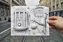 People / Ben Heine / by Alvaro Bustamante