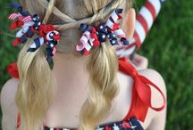 ponytails and bows