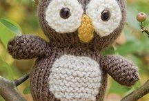 hračky pletené