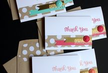 Stampin' Up!® - Thank You Cards