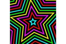 Stars / Star shapes, designs, patterns, arts and crafts and artwork. / by Annalee Blysse