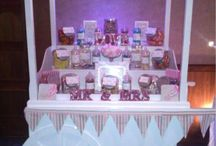 Candy Cart / Candy Cart hire and the delights of a fun and colourful display