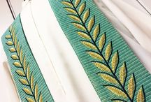 Chasubles and other religious vestments / A glimpse on our production of religious vestments...