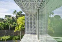 Blue Portuguese Moroccan Tile Design