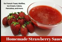 Sauce & Syrup for Dessert Recipes