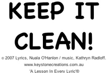 ENVIRONMENT MATTERS / 'KEEP IT CLEAN!' is a values-based, environmental rap song for Years K-6. It highlights responsibility for protecting our planet (emphasis on the 3 Rs - 'Reuse! Reduce! Recycle!).  © Lyrics,Nuala O'Hanlon/music, Kathryn Radloff    www.keystonecreations.com.au ~ Educational Songs 'A Lesson In Every Lyric'®  *Song sample (Track 7): http://www.cdbaby.com/cd/ohanlonradloff5  / by Keystone Creations ~ Songs