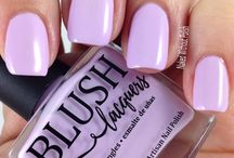 Blush Lacquers Swatches