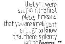 Educationy stuff