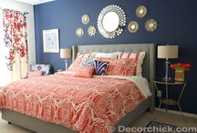 Bedroom One Blue Wall