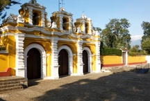 Churches in and around Antigua Guatemala