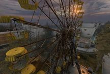 Abandoned Amusement Parks / by JuiceARollOfCandy