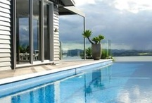 The Eyrie Villa / Situated high up in native bush overlooking the ocean, and out to Waitangi, Paihia and Islands to the North