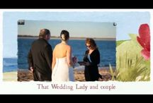 Wedding Videos / Wedding videos, wedding video compilations and more information about That Wedding Lady, wedding officiant serving Jacksonville, FL, Amelia Island, FL and St. Augustine, FL.