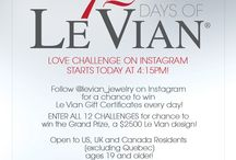 12 Days of Le Vian Love Challenge on Instagram!