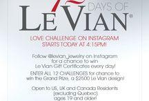 12 Days of Le Vian Love Challenge on Instagram!