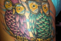 The Wise Old Owl / My love for owls as a tribute to my grandparents: 