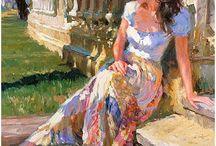 Volegov art paintings / Art.  work..