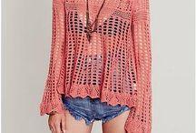 ideer till virkade kläder