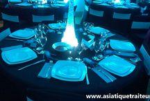 Buffet mariage asiatique / Buffet laosien - thailandais autour d'un mariage francais