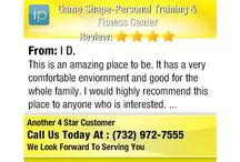 5 Star Reputation- Game Shape-Personal Training & Fitness Center / Check out our 5 star reviews!