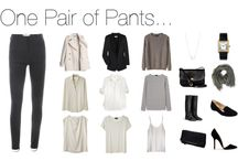 Black pants / by Christine Roddy