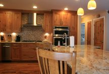 Rustic Style / This remodeling project was about making a Long Island residence feel more like a cozy cabin in the woods.