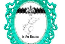 Emma's Paris Birthday Party / This party is Breakfast at Tiffany's meets Paris Café. / by Vickie List