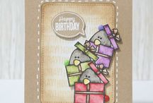 Card Creations with Create a Smile Stamps