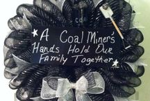 Coal wreath / by Donna Hunt