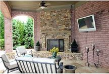 Outdoor Fireplaces / Few things are as enjoyable or as cozy as an outdoor fireplace. Check out these beautiful designs!  outdoorlivingplanet.com