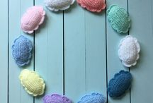 Crochet Baby Garland PATTERN, Crochet Clouds Pattern, Baby Banner Pattern, Baby Crochet Bunting, Nursery Room Crochet, Crochet Gift for Baby, Pinterest
