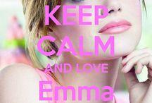 <3 Keep calm: Emma Stone <3 / Este tablero lo he creado para tener todos los Keep calms de Emma Stone :)