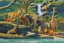 Biblia w obrazach - Stary Testament -  Księgi Mojżeszowe